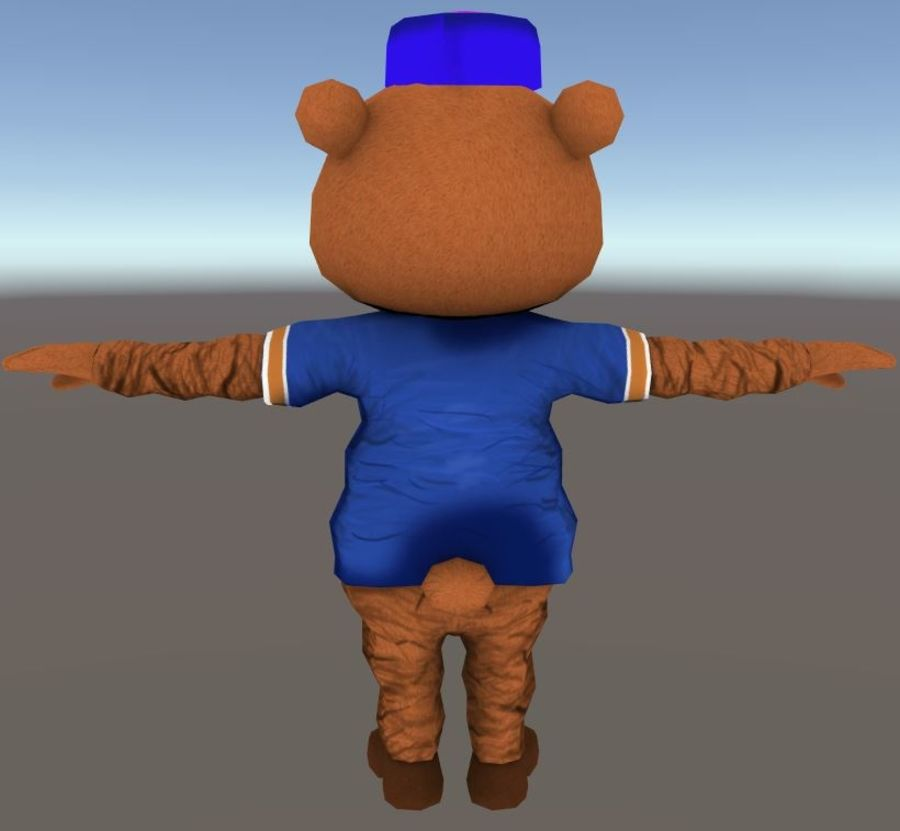 Bear royalty-free 3d model - Preview no. 5