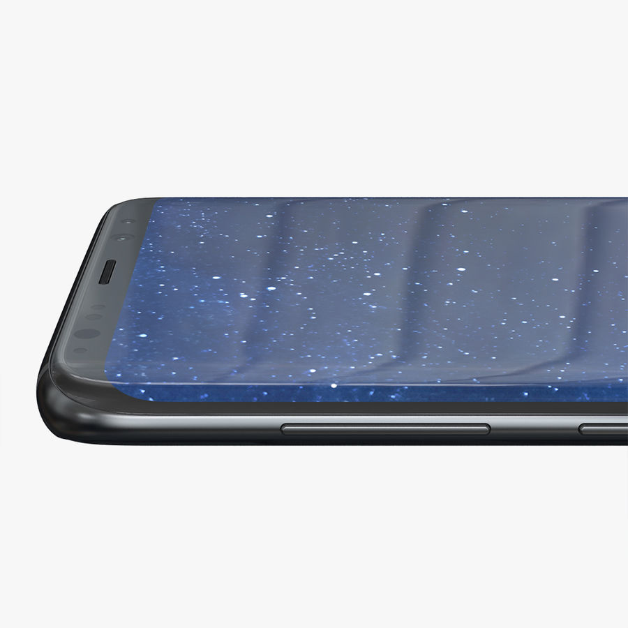 Samsung Galaxy S8 Plus royalty-free 3d model - Preview no. 11