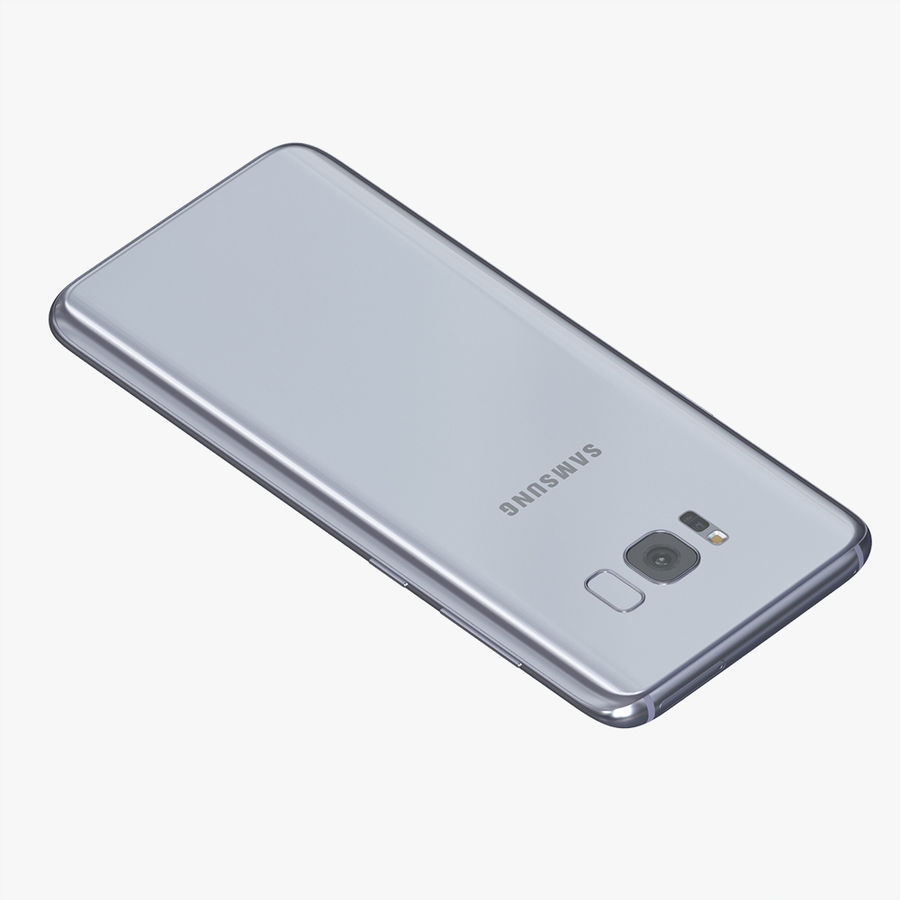 Samsung Galaxy S8 Plus royalty-free 3d model - Preview no. 5