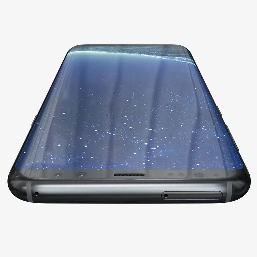 Samsung Galaxy S8 Plus royalty-free 3d model - Preview no. 7