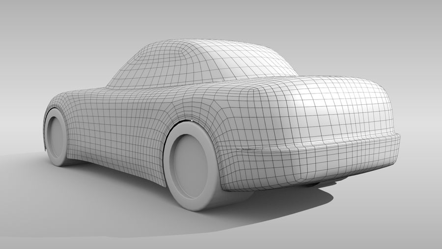 Variante layout di base FR per auto 5 royalty-free 3d model - Preview no. 5