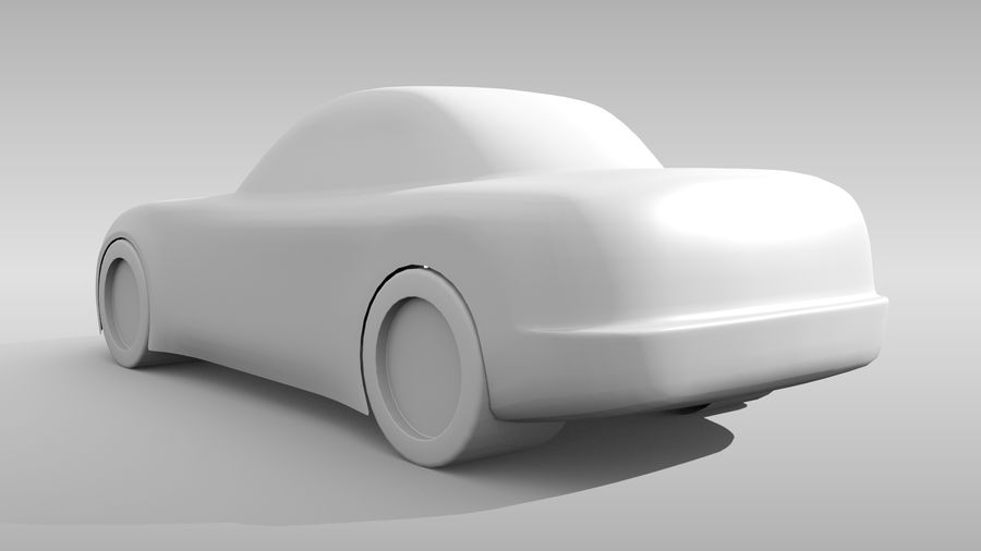 Variante layout di base FR per auto 5 royalty-free 3d model - Preview no. 7