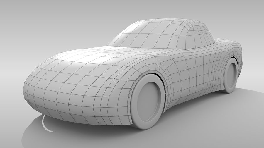 Variante layout di base FR per auto 5 royalty-free 3d model - Preview no. 3