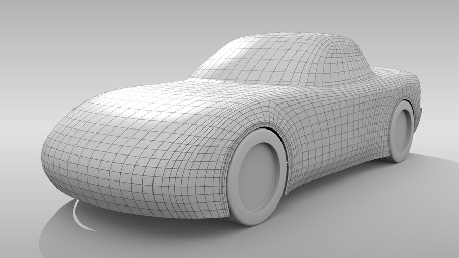 Variante layout di base FR per auto 5 royalty-free 3d model - Preview no. 2
