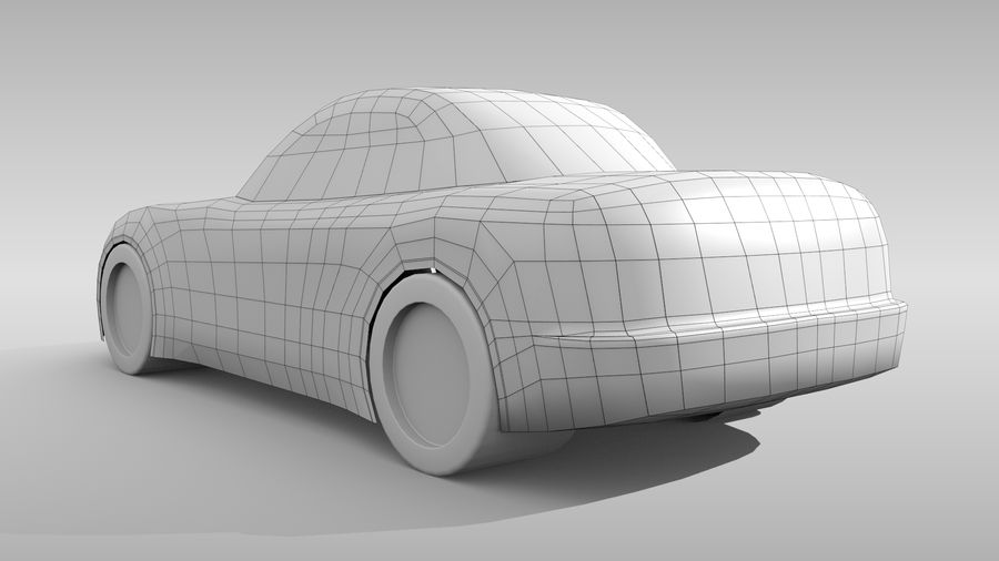 Variante layout di base FR per auto 5 royalty-free 3d model - Preview no. 6