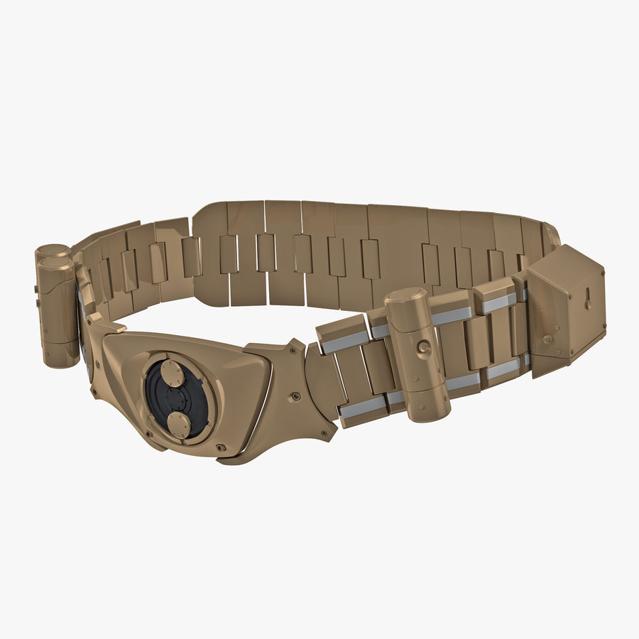 Batman Belt 3D Model $49 -  c4d  ma  max  obj  fbx  3ds - Free3D