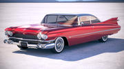 Cadillac 62 Hardtop Coupe 1959 3d model