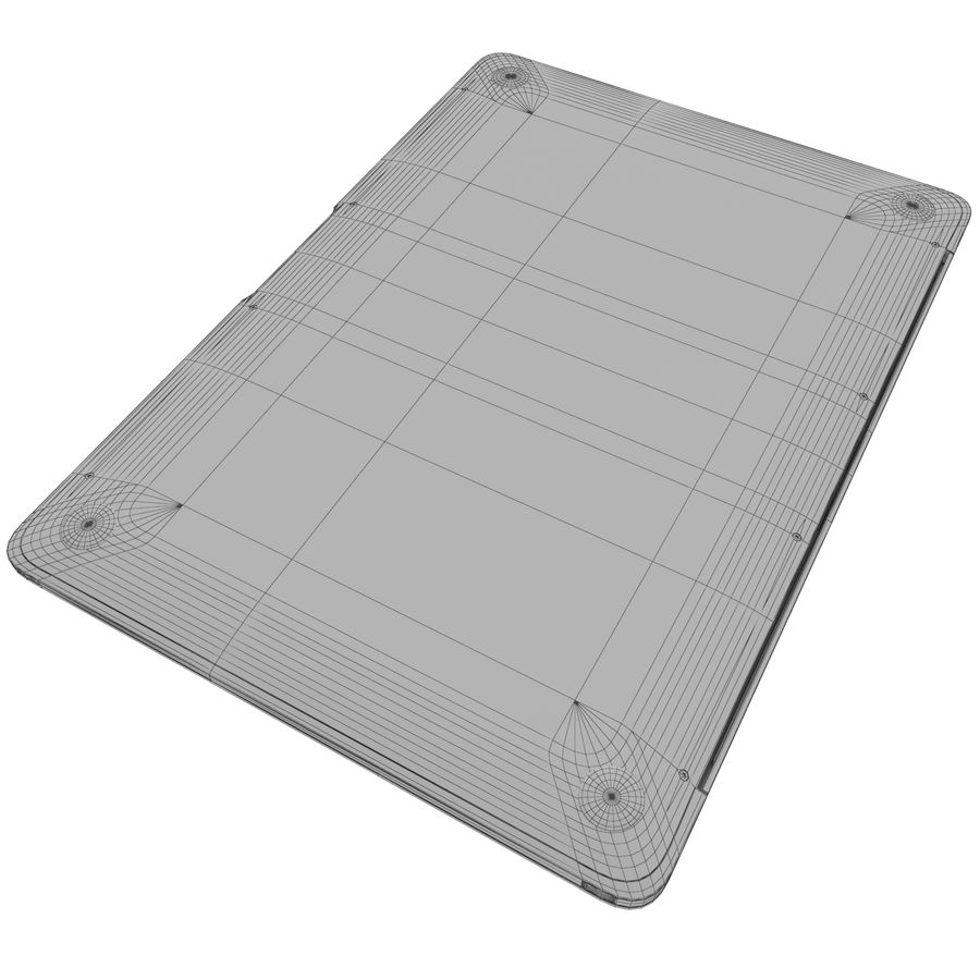 MacBook 2015 royalty-free 3d model - Preview no. 7