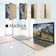MacBook 2015 modelo 3d