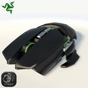 Razer Ouroboros mouse 3d model