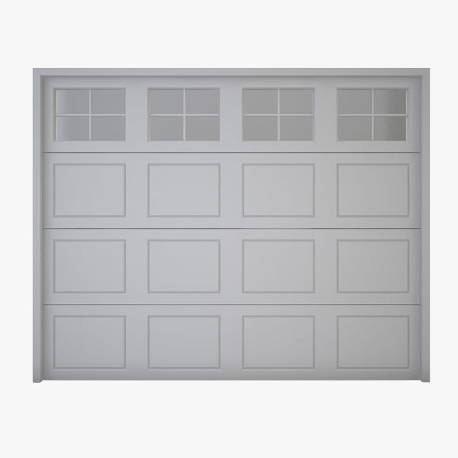 Garage door 03 royalty-free 3d model - Preview no. 1