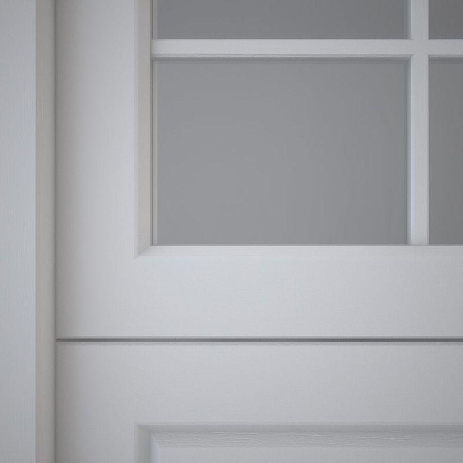 Garage door 03 royalty-free 3d model - Preview no. 4