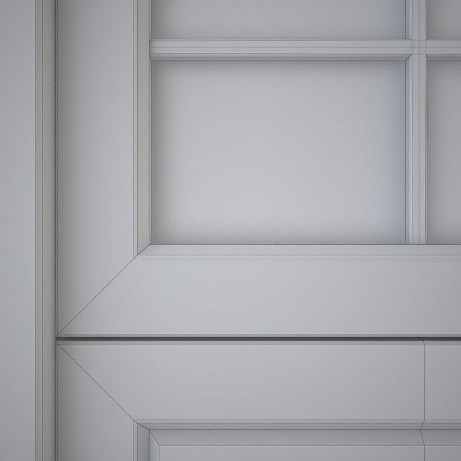 Garage door 03 royalty-free 3d model - Preview no. 5