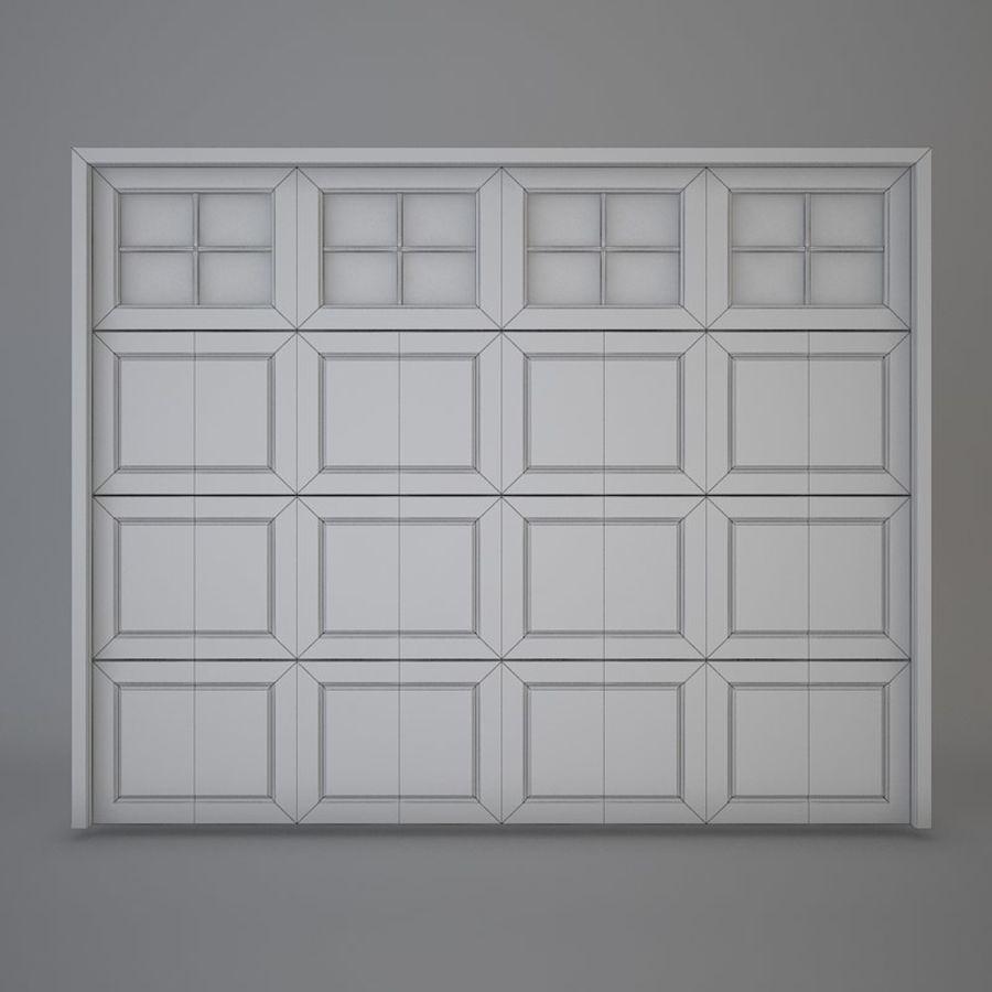 Garage door 03 royalty-free 3d model - Preview no. 3