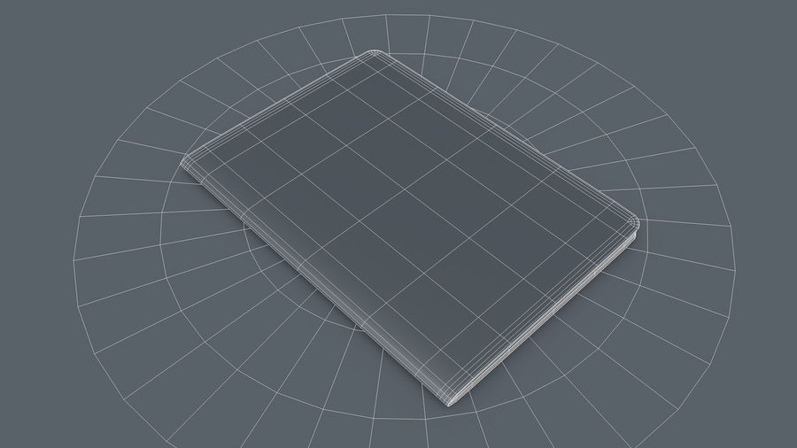 Passport royalty-free 3d model - Preview no. 5