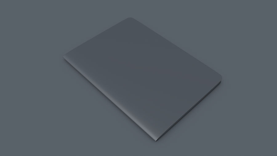 Passport royalty-free 3d model - Preview no. 4
