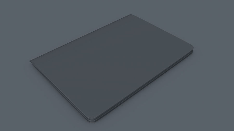Passport royalty-free 3d model - Preview no. 8