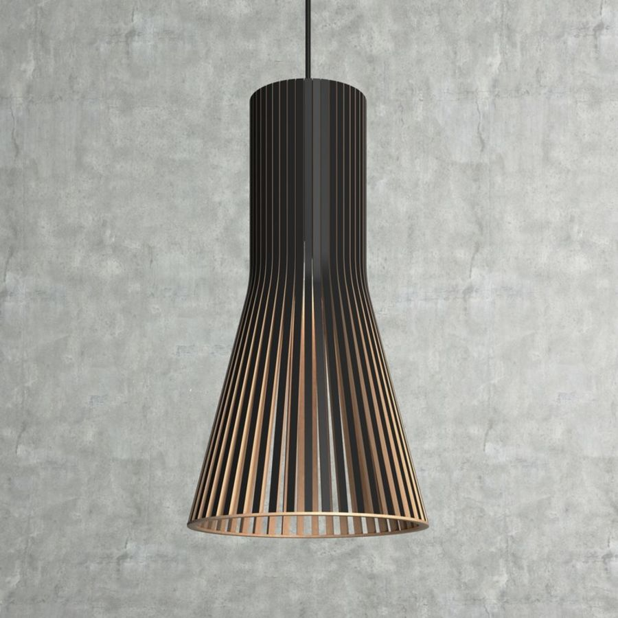 Scandinavian (finnish) Secto 4201 pendant light by Secto Design