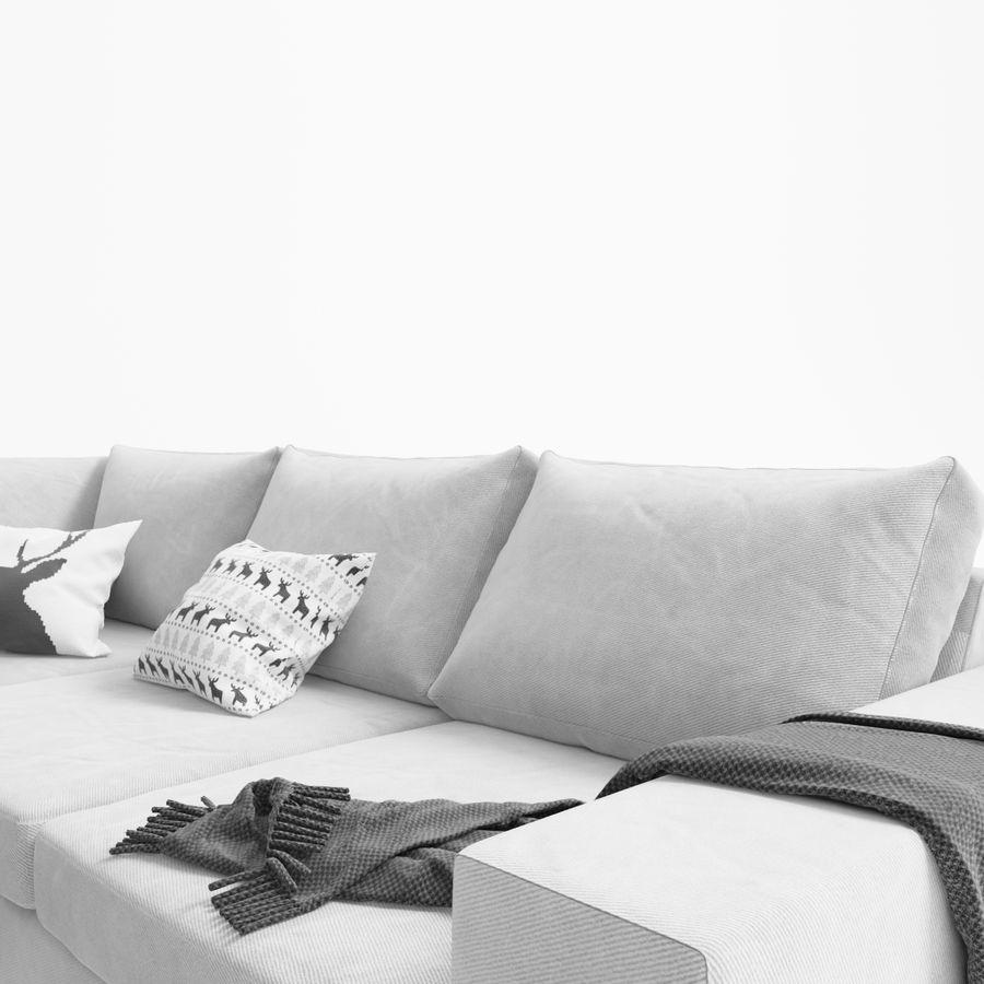 Soffa Boconcept Indivi royalty-free 3d model - Preview no. 5
