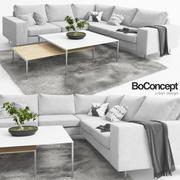 Bank Boconcept Indivi 3d model