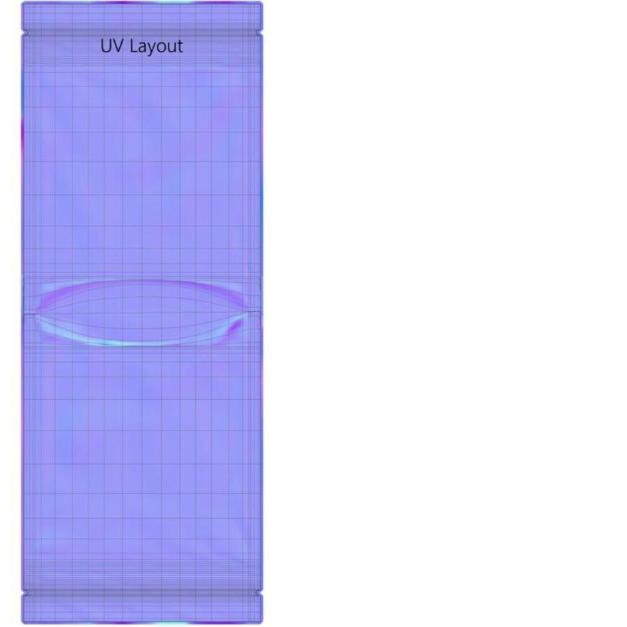 香包23x33cm royalty-free 3d model - Preview no. 12