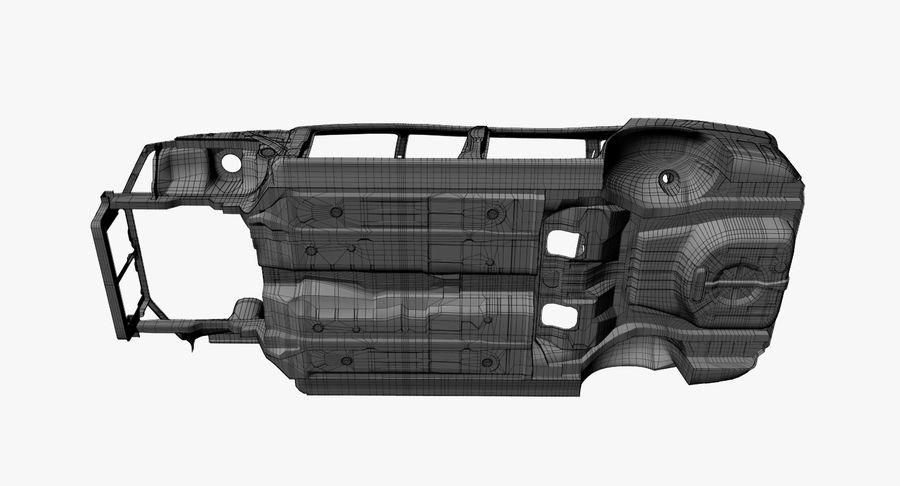 Каркас автомобиля royalty-free 3d model - Preview no. 16