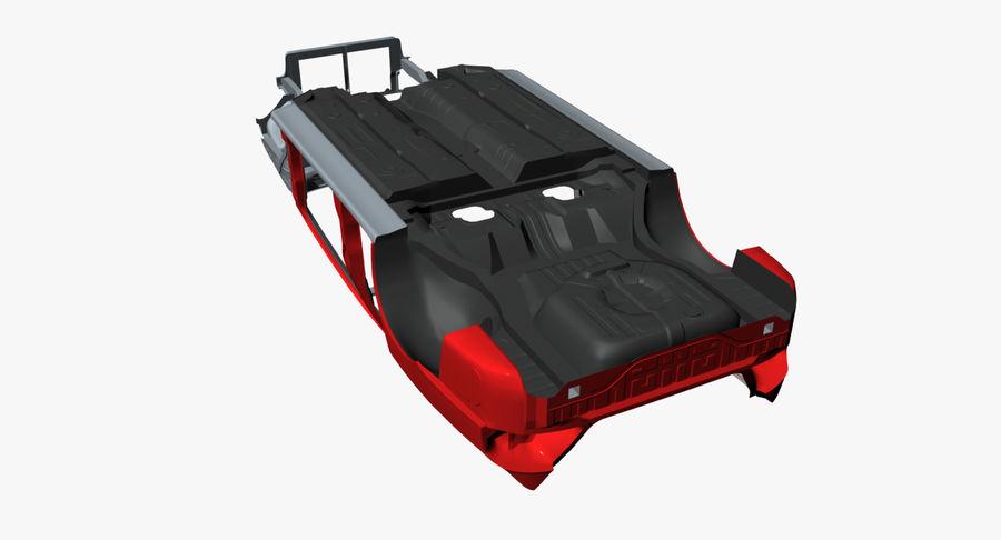 Каркас автомобиля royalty-free 3d model - Preview no. 13