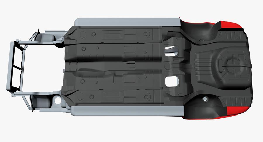 Каркас автомобиля royalty-free 3d model - Preview no. 12