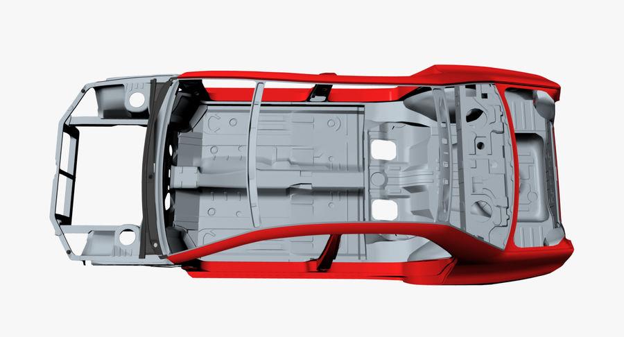 Каркас автомобиля royalty-free 3d model - Preview no. 11