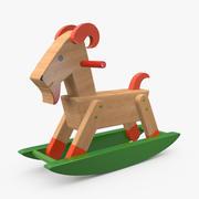 Ziegen-Spielzeug 3d model