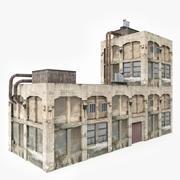 Abandoned Factory 3d model