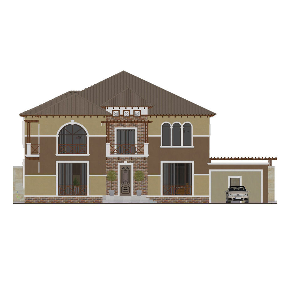 house royalty-free 3d model - Preview no. 5