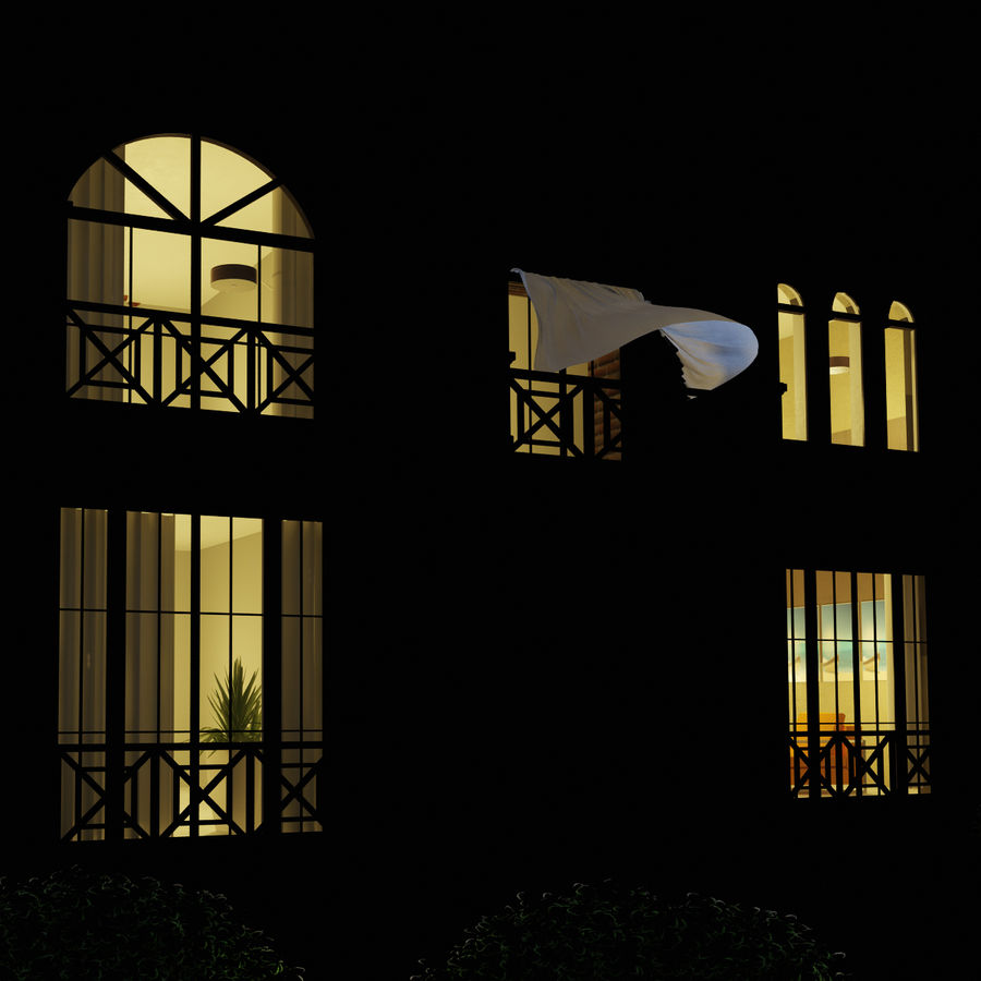 house royalty-free 3d model - Preview no. 9
