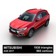 Mitsubishi ASX 2017 3d model