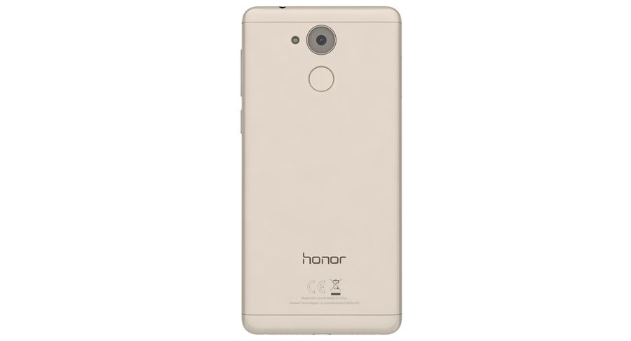Huawei Honor 6C Gold royalty-free 3d model - Preview no. 10