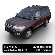 Toyota Land Cruiser 200 2015 3d model