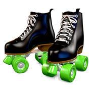 Rollerskates 3d model