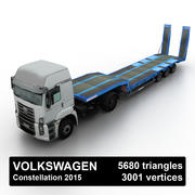 VW Constellation Loader 2015 3d model