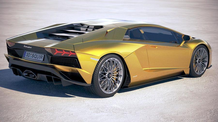 Lamborghini Aventador S 2017 3d Model 159 Max Obj Lwo Fbx