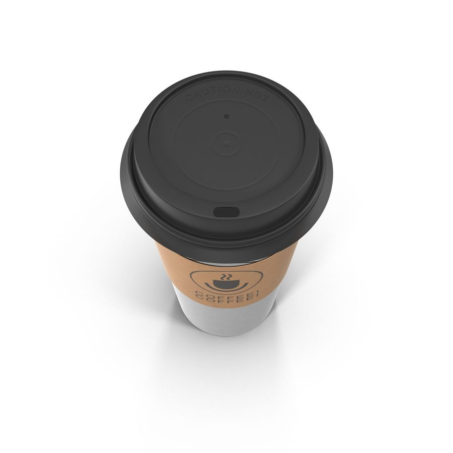 To-Go Coffee Cup 1 royalty-free 3d model - Preview no. 4