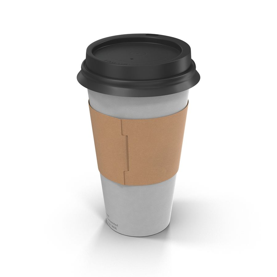 To-Go Coffee Cup 1 royalty-free 3d model - Preview no. 6