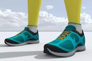 Sports sneakers_01_j 3d model