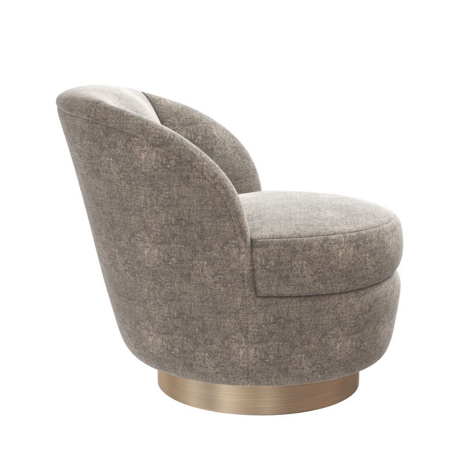 seating sale l baughman swivel barrel back modern furniture tub milo f mid chairs style id chair century for