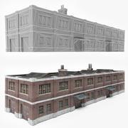 Factory Building 12 3d model