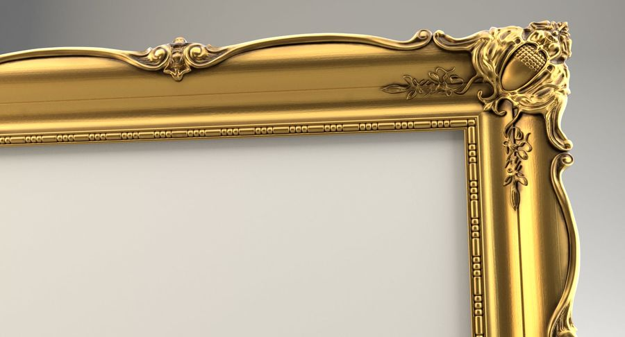 Painting Frame 2 royalty-free 3d model - Preview no. 8