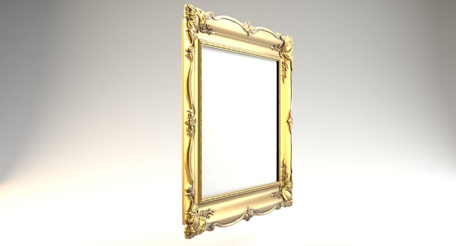 Painting Frame 2 royalty-free 3d model - Preview no. 5