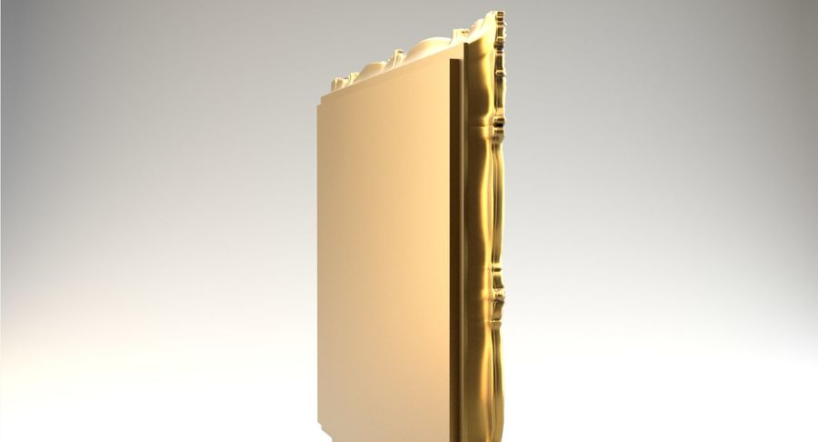 Painting Frame 2 royalty-free 3d model - Preview no. 6