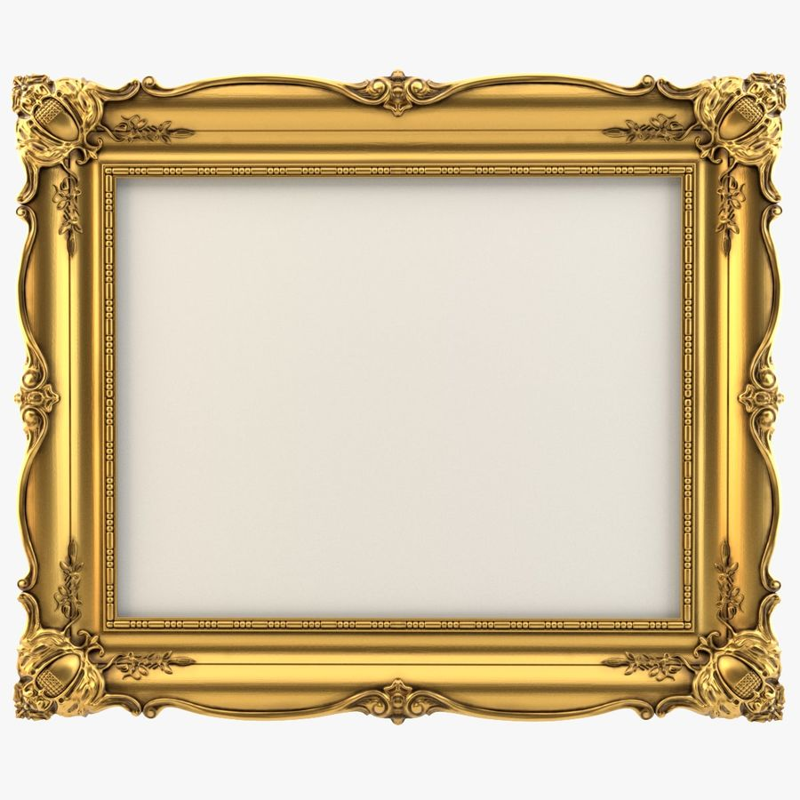 Painting Frame 2 royalty-free 3d model - Preview no. 1