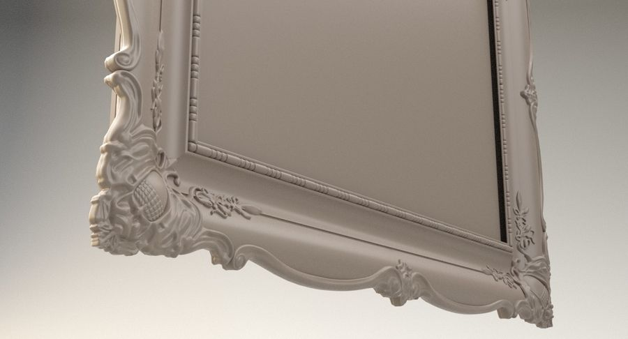 Painting Frame 2 royalty-free 3d model - Preview no. 15