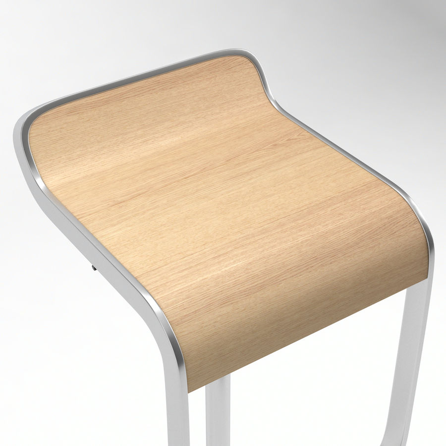 Lapalma Lem Bar Stool 3d Model 19 C4d Fbx Obj 3ds